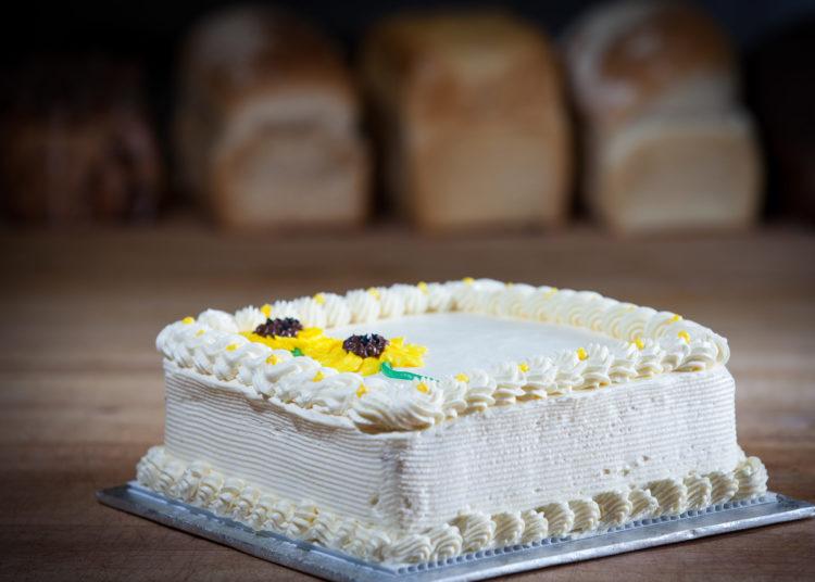 Vanilla or chocolate sheet cakes white rock bakery