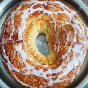 delicious almond ring white rock bakery