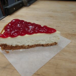 cheesecake slice white rock south surrey bakery