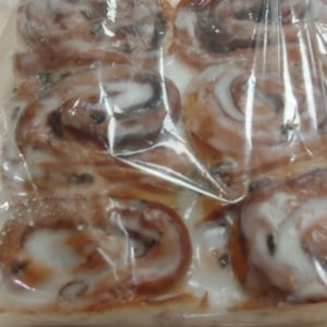 Fresh baked cinnamon buns white rock surrey bakery