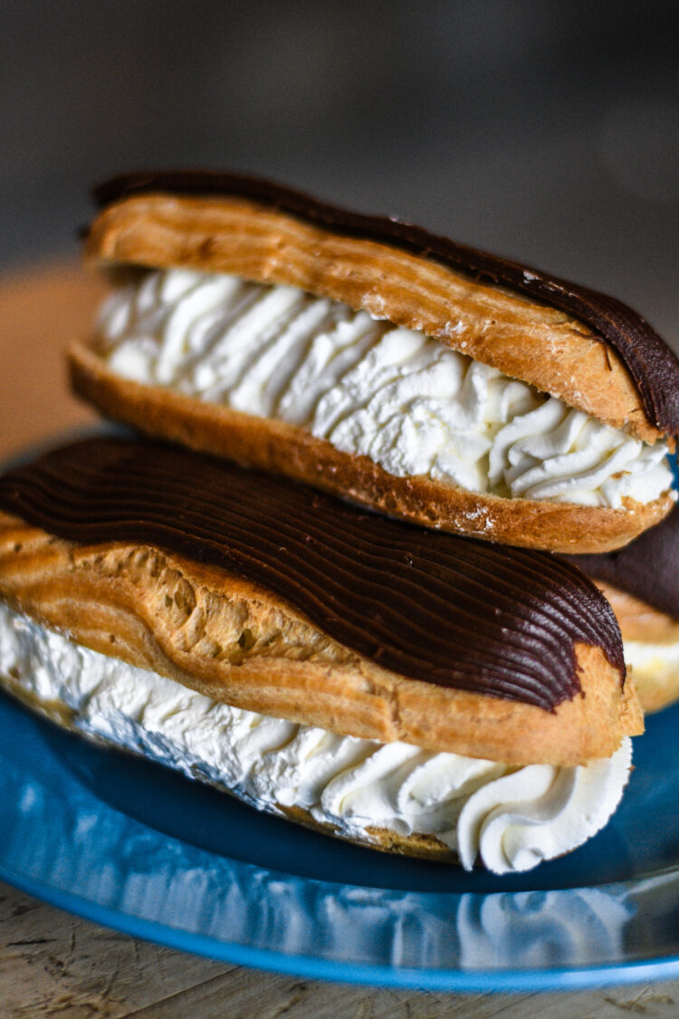 best-eclair-doughnut-white-rock-bakery
