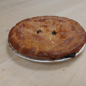 Fresh baked BC Blueberry pie white rock surrey