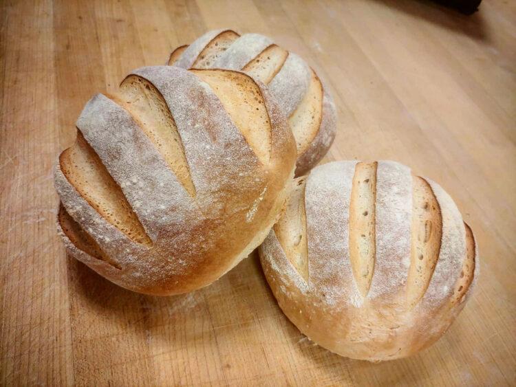 Fresh baked artisan sourdough white rock surrey bakery