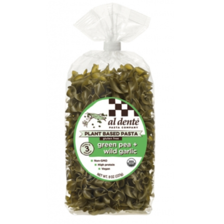 Green Pea and Wild Garlic Gluten-Free Pasta