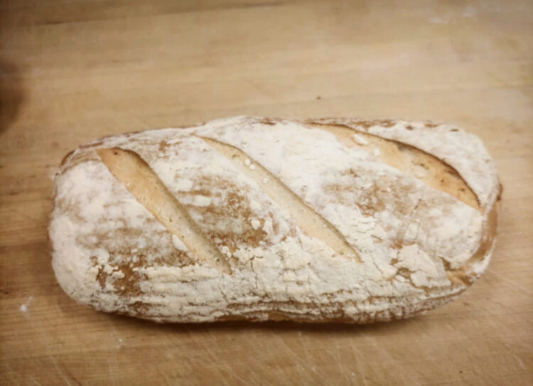 Artisan sourdough loaf white rock south surrey bakery