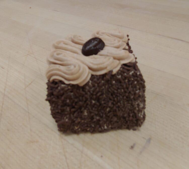 Mocha Cake Square Hillcrest Bakery White Rock