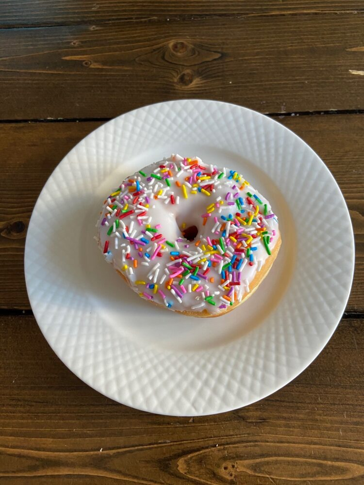 Vanilla Sprinkle Doughnut White Rock South Surrey
