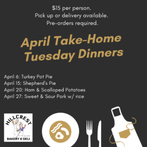 Take and Bake dinners to go white rock south surrey