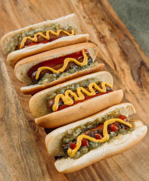 BBQ bundles hot dog european weiners white rock deli