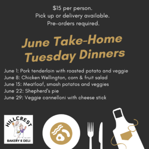 take and bake tuesday dinner white rock south surrey