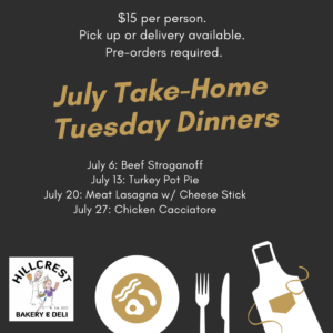 July heat and serve take home dinners white rock