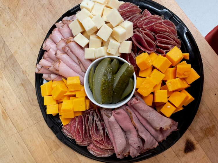 Party Platter Catering White Rock Surrey Meat & Cheese Party Platter